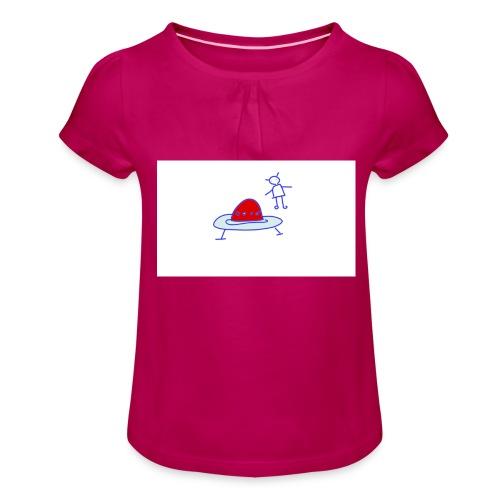 Project 3 - Camiseta para niña con drapeado