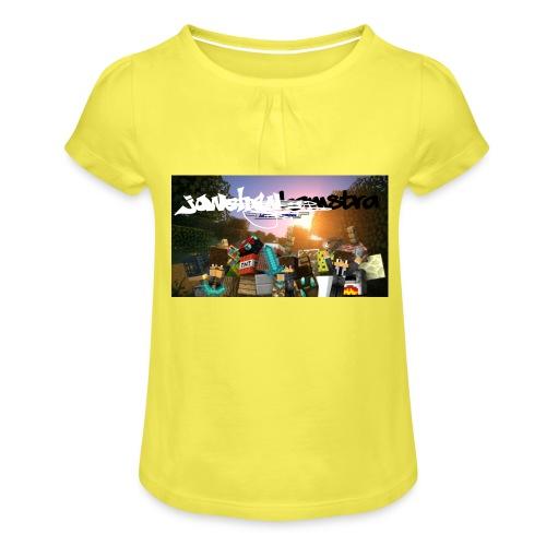 6057231244D88B5F5DED63C6F58FB0122038CBC7A63A50B55 - Girl's T-Shirt with Ruffles