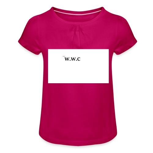 White Wolf Clothing - Pige T-shirt med flæser