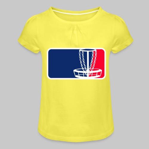 Disc golf - Tyttöjen t-paita, jossa rypytyksiä