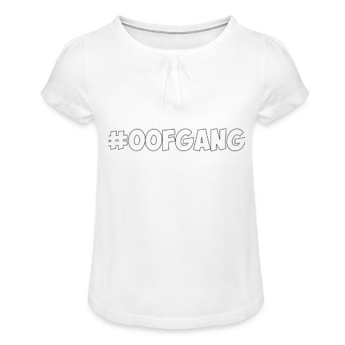 #OOFGANG MERCHANDISE - Girl's T-Shirt with Ruffles