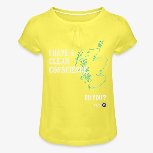 Clear Conscience - Girl's T-Shirt with Ruffles