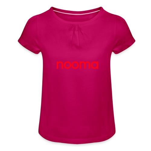 Nooma - Meisjes-T-shirt met plooien