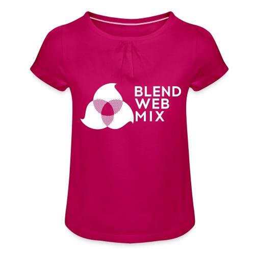 logo bland - T-shirt à fronces au col Fille
