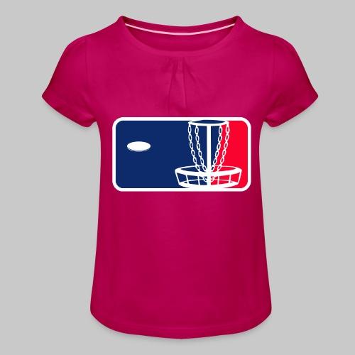 Major League Frisbeegolf - Tyttöjen t-paita, jossa rypytyksiä