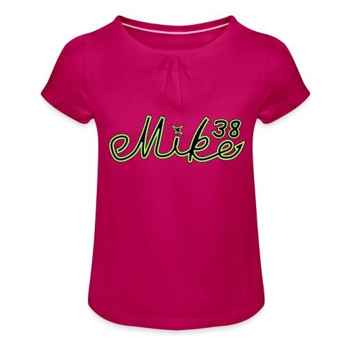 mike38teksti - Tyttöjen t-paita, jossa rypytyksiä