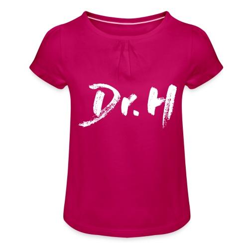Sweat femme col bateau Dr. H - T-shirt à fronces au col Fille