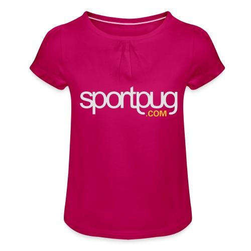 SportPug.com - Tyttöjen t-paita, jossa rypytyksiä