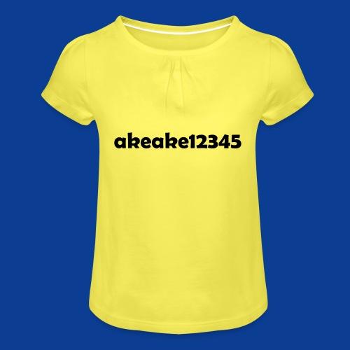 My new shirt - Girl's T-Shirt with Ruffles