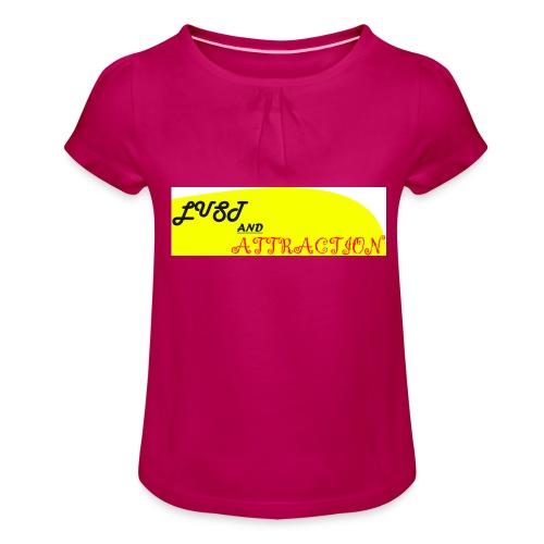 lust ans attraction - Girl's T-Shirt with Ruffles