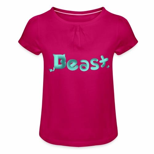 Beast - Girl's T-Shirt with Ruffles