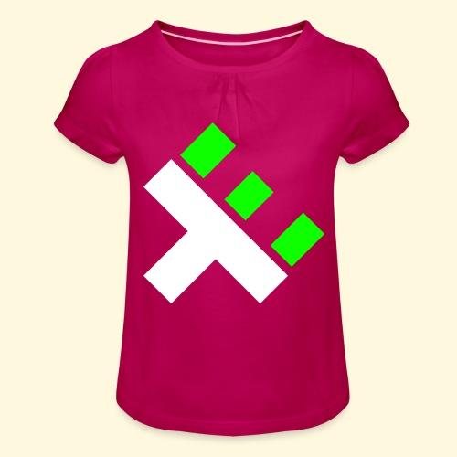 xEnO Logo - xEnO horiZon - Girl's T-Shirt with Ruffles