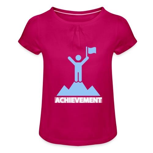 Achievement typo - Girl's T-Shirt with Ruffles