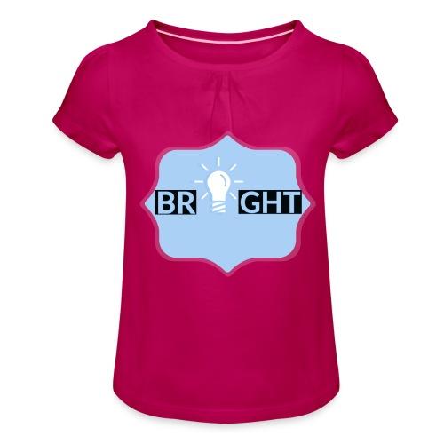 Bright - Girl's T-Shirt with Ruffles