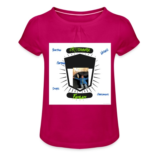 C90F78C5 B4FA 40E0 B948 065F815BB32C - Girl's T-Shirt with Ruffles