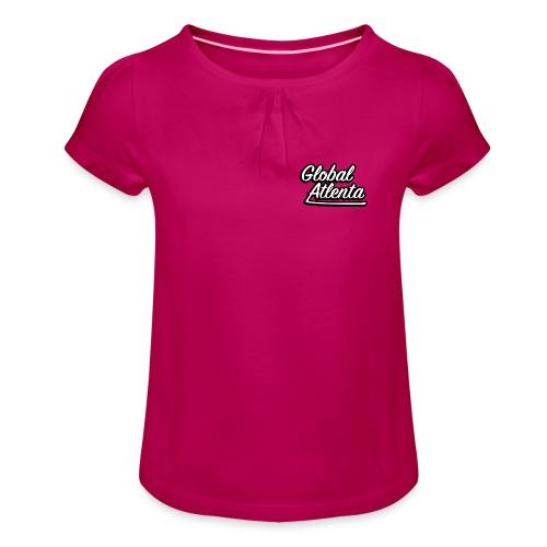 DJ Global Atlenta - T-shirt à fronces au col Fille