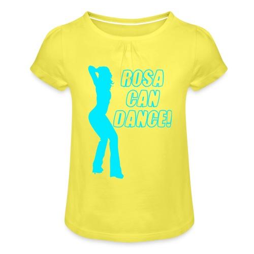 rosacandance - Girl's T-Shirt with Ruffles