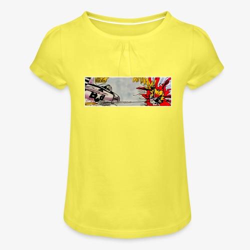 ATOX - Maglietta da ragazza con arricciatura