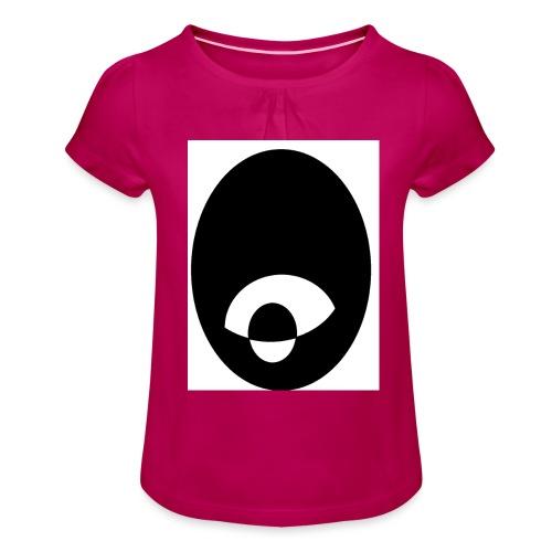 oeildx - T-shirt à fronces au col Fille