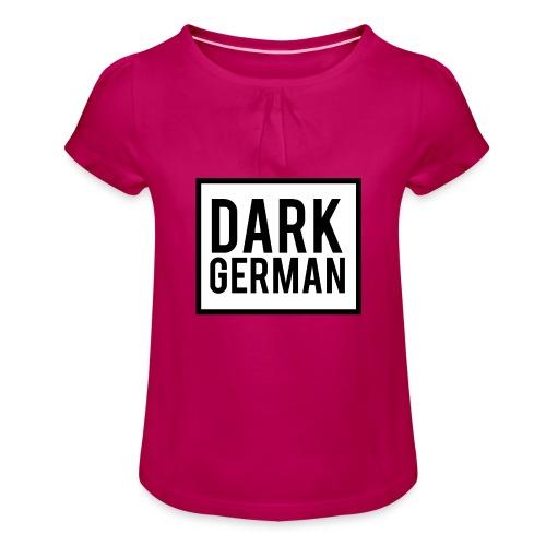 MERCH - Mädchen-T-Shirt mit Raffungen