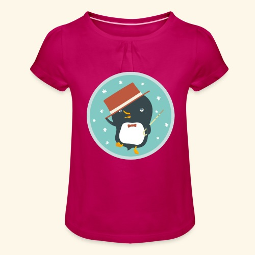 Dance With Me - Girl's T-Shirt with Ruffles