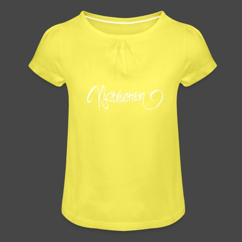 Name only - Girl's T-Shirt with Ruffles