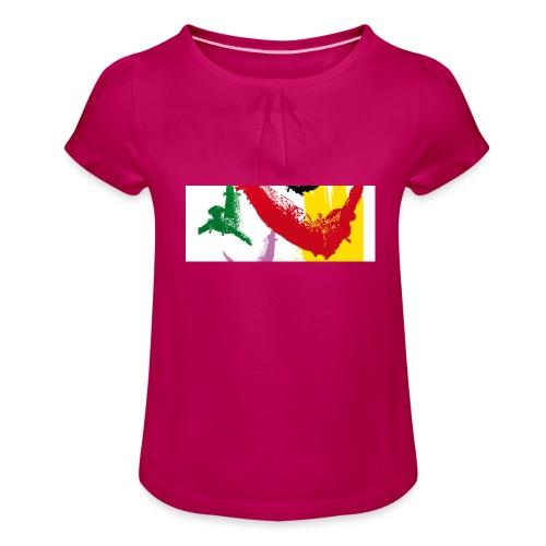 Feria 2017 - T-shirt à fronces au col Fille