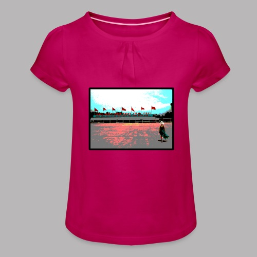Ho Chi Minh - Girl's T-Shirt with Ruffles