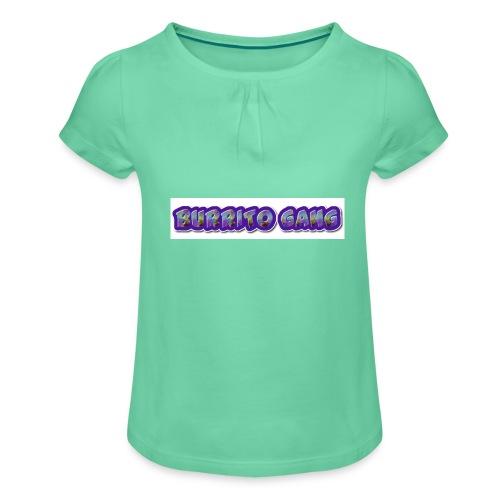 BURRITO GANG MALLISO - Tyttöjen t-paita, jossa rypytyksiä