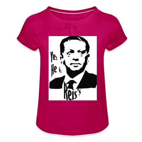 Erdogan - T-shirt à fronces au col Fille
