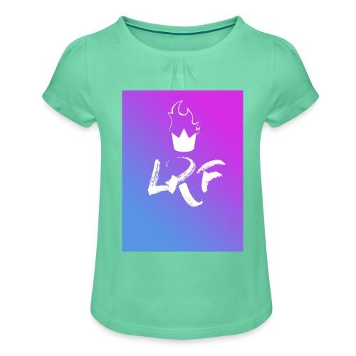 LRF rectangle - T-shirt à fronces au col Fille