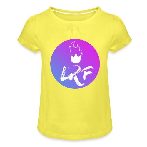 LRF rond - T-shirt à fronces au col Fille