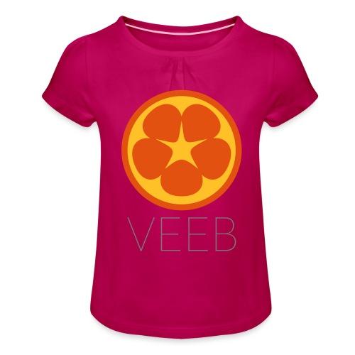 VEEB - Girl's T-Shirt with Ruffles