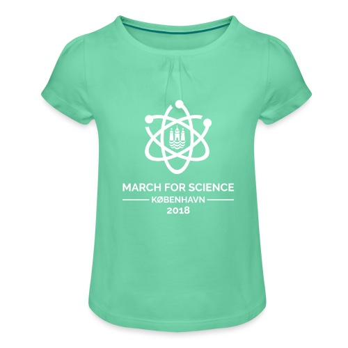 March for Science København 2018 - Girl's T-Shirt with Ruffles