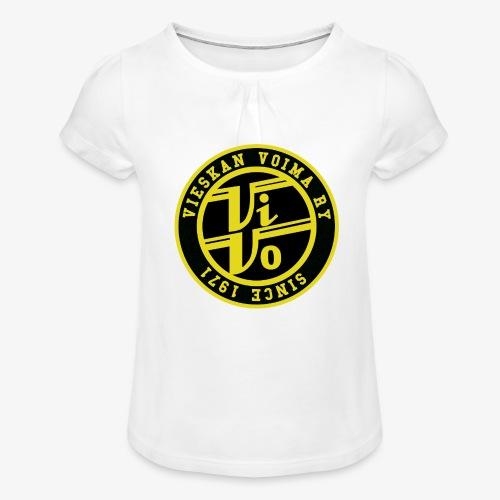 ViVo Since 1971 - Tyttöjen t-paita, jossa rypytyksiä