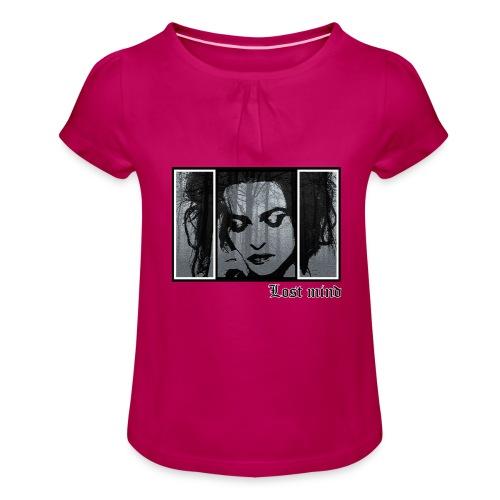 LOST MIND - Camiseta para niña con drapeado