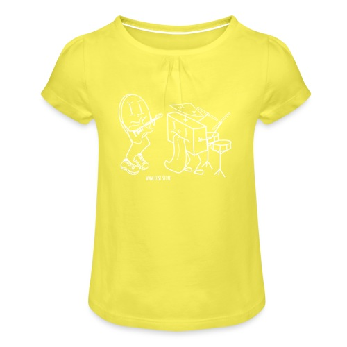 so band - Girl's T-Shirt with Ruffles