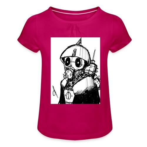 gas man - Camiseta para niña con drapeado