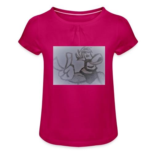 Rayman - Koszulka dziewczęca z marszczeniami