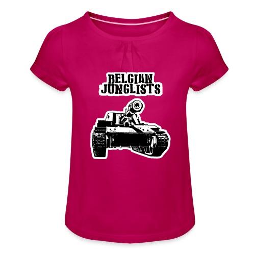 Tshirtbig - Girl's T-Shirt with Ruffles
