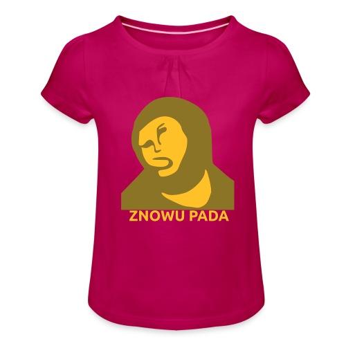 Znowu pada Jeżus z Borja - Koszulka dziewczęca z marszczeniami