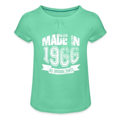 Made in 1966 - Camiseta para niña con drapeado