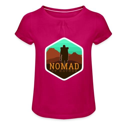 Nomad By Nature - Mädchen-T-Shirt mit Raffungen