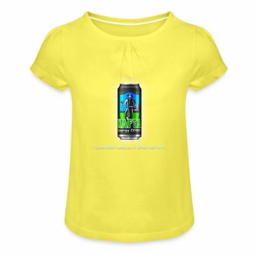 Nafta Energy Drink - Maglietta da ragazza con arricciatura