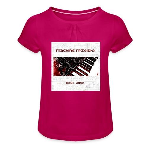 basic songs - Girl's T-Shirt with Ruffles