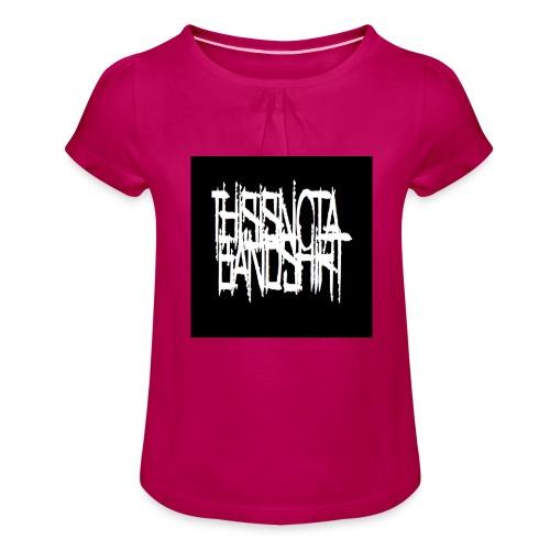 des jpg - Girl's T-Shirt with Ruffles