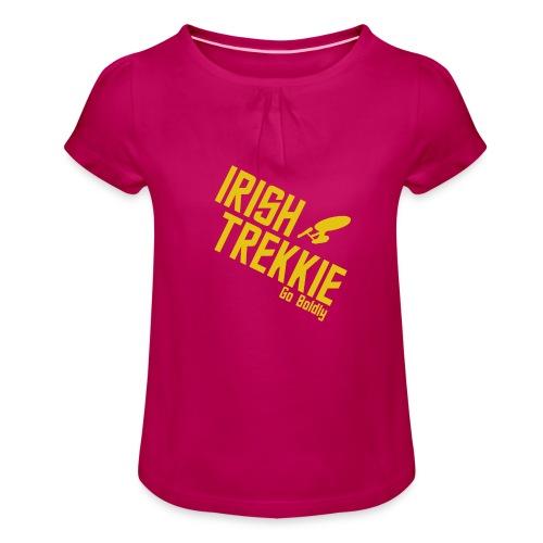 Go Boldy 2 - Girl's T-Shirt with Ruffles