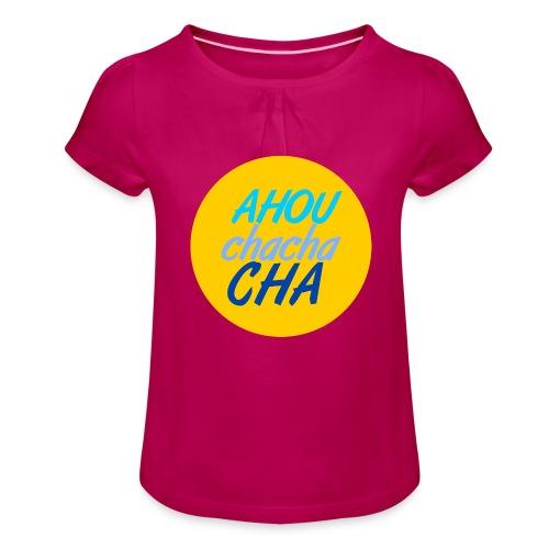 Summer Love - T-shirt à fronces au col Fille