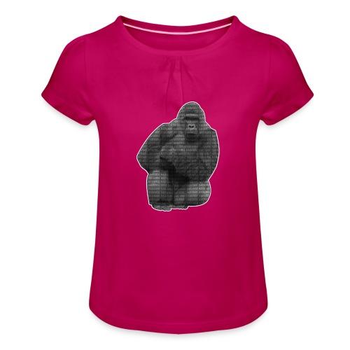 harambe 2k png - Pige T-shirt med flæser