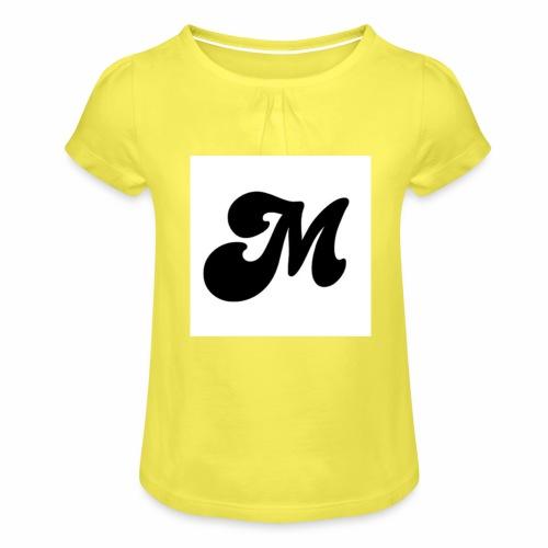 M - Girl's T-Shirt with Ruffles